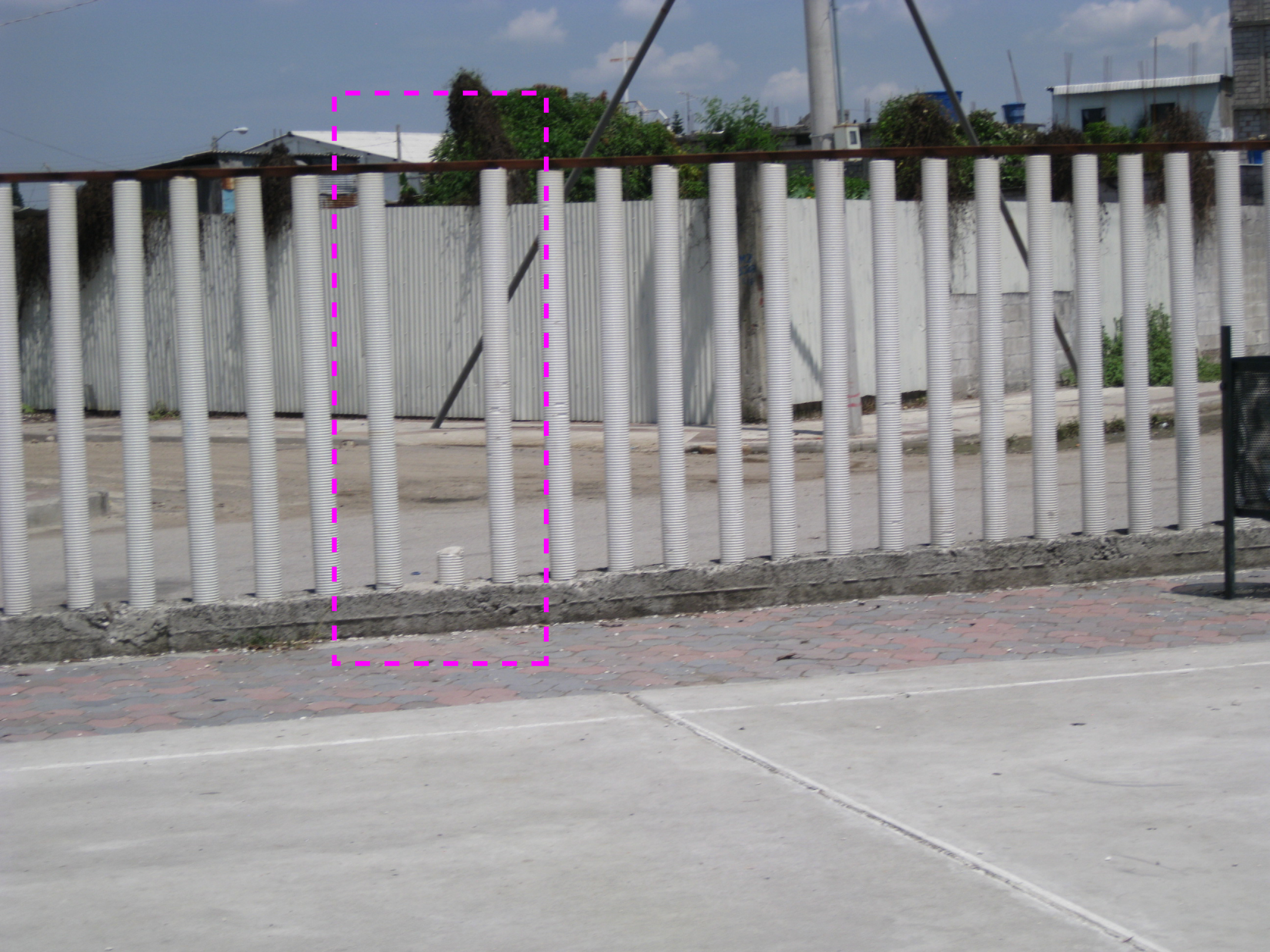 Pvc pipes and fence on pinterest