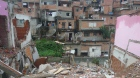 The Bamburral Favela during housing removal for reurbanization. São Paulo, Brazil. Credits Kirsten Larson
