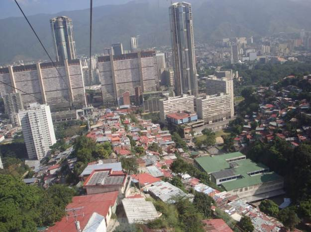 Caracas from the Metro Cable