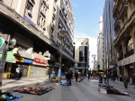 A San Telmo street on a relatively quiet Monday, Buenos Aires, Argentina