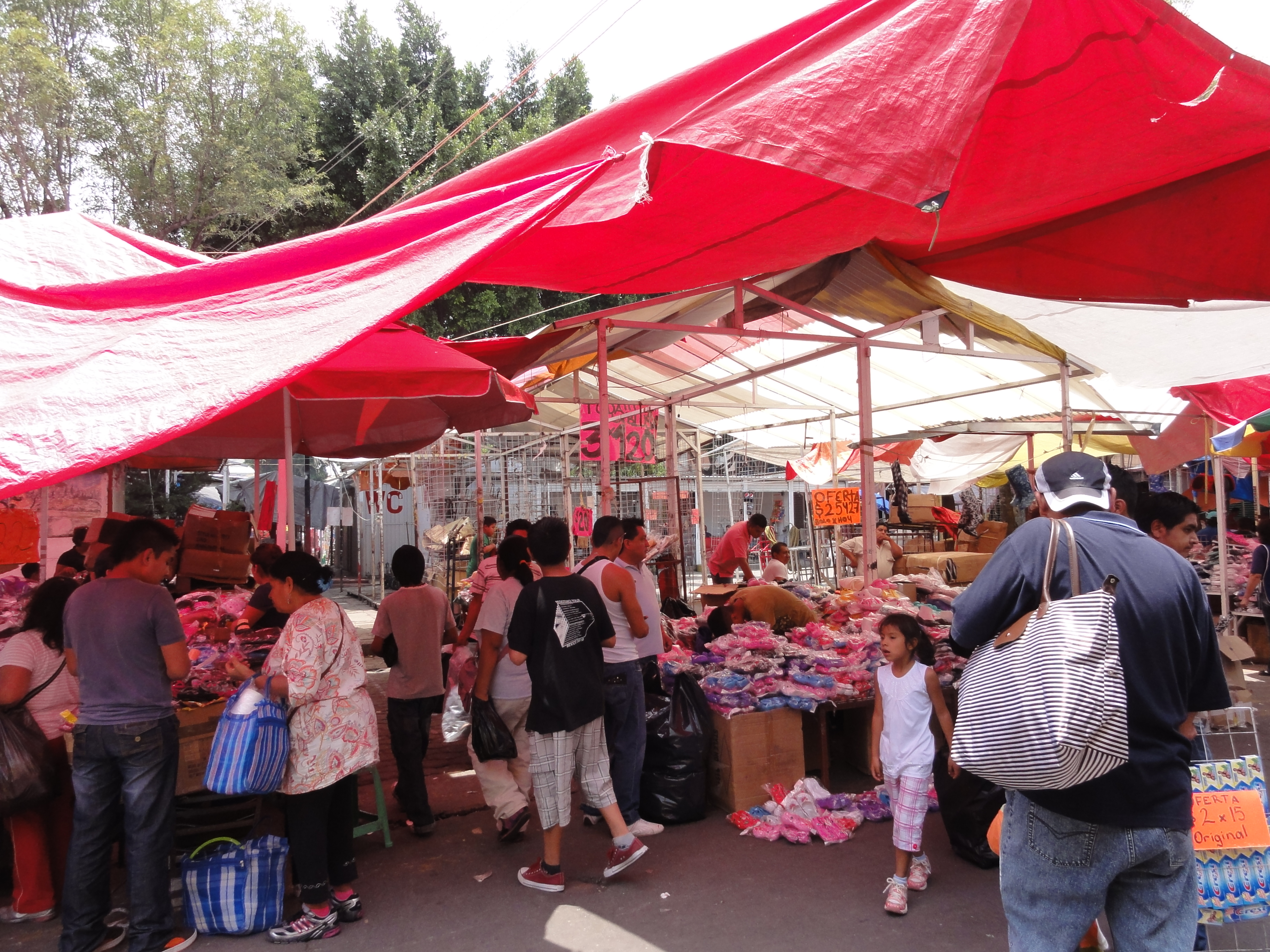 Tianguis Of Tarps In Mexico City Favel Issues