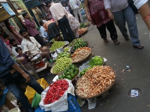 Vegetable vendors, MumbaiSource: Author