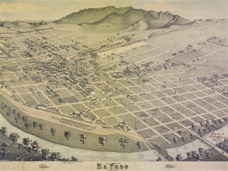 El Paso 1886, source: internet