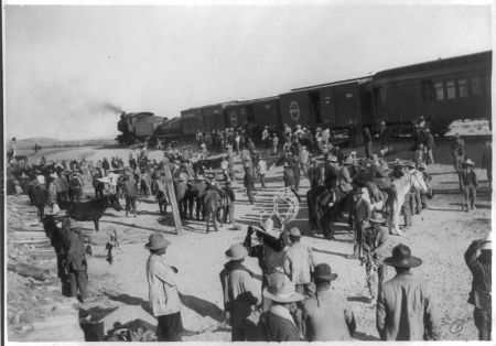 Railway, Mexican Revolution [1990]; source: wikipedia