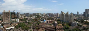 Mill Lands of central Mumbai, View from Vighnaharta Co-op Housing Society Ltd, Lalbaug, Parel, Mumbai