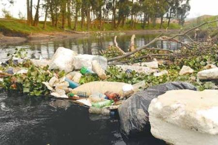 Contaminación Rio Bogotá