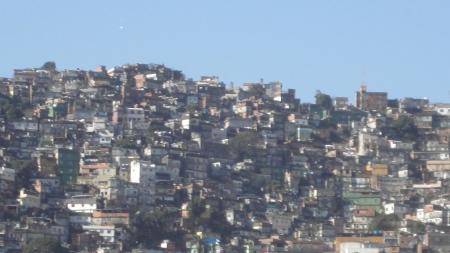 Favela Rocinha as seen from São Conrado