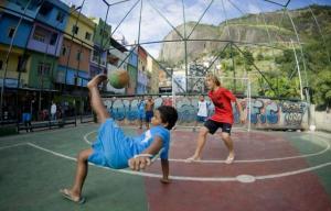 la vida en las favelas