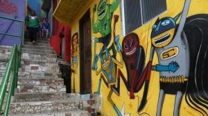 Camino del grafiti  para recibir turistas en el Mundial. Morro dos Prazeres http://mexico.cnn.com/mundo/2014/04/12/una-favela-se-pinta-de-colores-para-atraer-turismo-y-crear-oportunidades