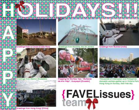 favelissues holiday