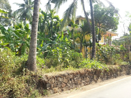 Bungalow housing with adjacent agricultural plots, Nandakhal, Virar