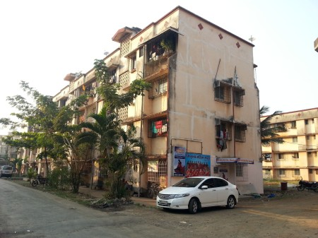 Older planned housing, Virar urban core