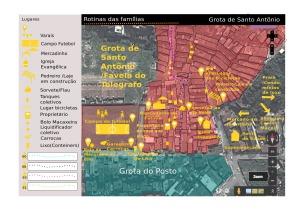 map of Grota de Santo Antônio from Ana Rosa Chagas Cavalcanti.