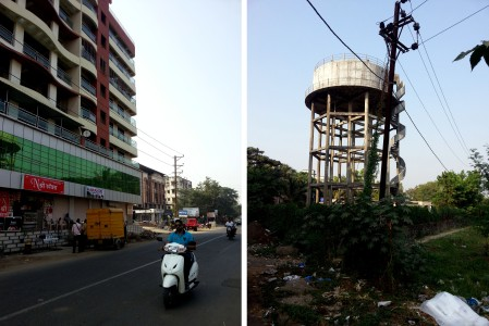 Travelling back to the urban core through Bolinj, Virar