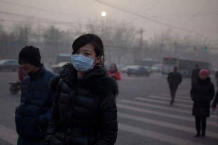 CHINA-ENVIRONMENT-POLLUTION