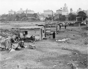 Antes de construir Central Park