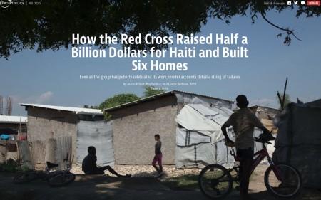 ARC haiti- NPR+Prorepublica