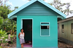 Ngolos - Timber house - February 2015