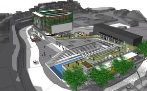 Proyecto de Parque Deportivo Mesuca de AREPA Arquitectura y Paisaje