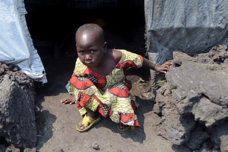 Mugunga Refugee Camp, North Kivu, The Democratic Republic of the Congo