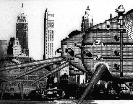 walking city archigram