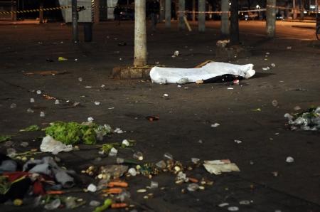 Homen morto em sao paulo, depois de uma troca de tiros com a policia