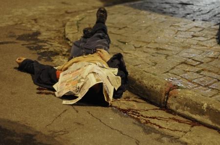 Homen morto em SP depis de uma troca de tiros a co a polica