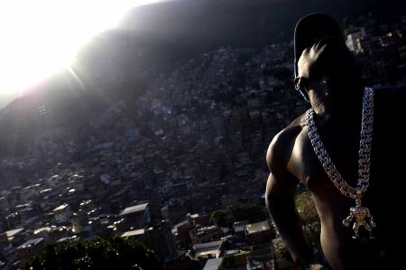 Rio de Janeiro. Favela Rocinha, Gorilla, cantante funky ©Foto Christian Tragni