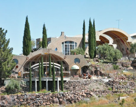 Arcosanti, Arizona.. has become an isolated experiments eventually reduced to tourist attractions.