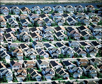 Suburban-sprawl causes more problems than it solves.