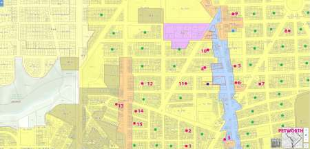 Petworth Dc Map.Dc S Hidden City Part 1 Alleys My New Fascination