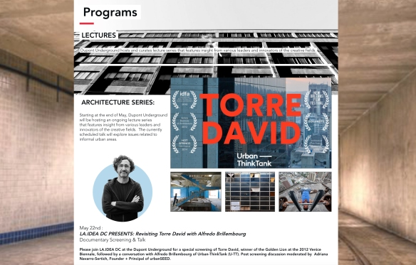 Revisiting Torre David [UTT's Alfredo Brillembourg